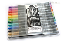 Copic atyou Spica Micro Glass Glitter Pen - 12 Color Set - A - COPIC GL12ASET