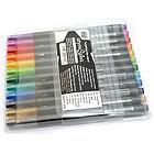 Copic atyou Spica Micro Glass Glitter Marker Pen - 12 Color Set - A