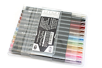 Copic atyou Spica Micro Glass Glitter Pen - 12 Color Set - B - COPIC GL12BSET