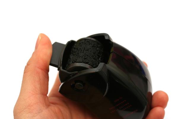 Kokuyo Security Roller Stamp - 25 mm Width + 3 ml Ink Refill - KOKUYO IS-R25D