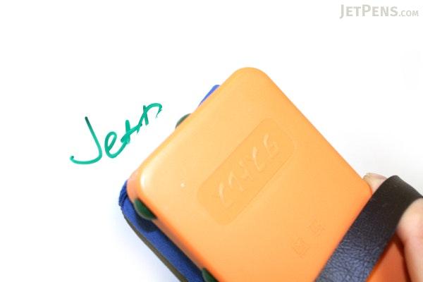 Kokuyo Inkga-e Refillable Whiteboard Marker Pen - Medium Point - Green - KOKUYO PM-B151G