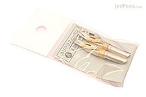 Tachikawa Calligraphy Pen Nib - Type A (Flat) - 4 mm - Pack of 2 - TACHIKAWA CALLI-A-4