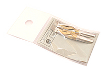 Tachikawa Calligraphy Pen Nib - Type A (Flat) - 6 mm - Pack of 2 - TACHIKAWA CALLI-A-6