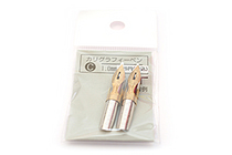 Tachikawa Calligraphy Pen Nib - Type C (Sharp) - 1 mm - Pack of 2 - TACHIKAWA CALLI-C-1
