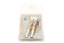 Tachikawa Calligraphy Pen Nib - Type C (Sharp) - 6 mm - Pack of 2 - TACHIKAWA CALLI-C-6