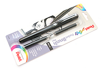 Pentel Pocket Brush Pen + 2 Refill Cartridges - PENTEL GFKP3BPA