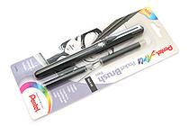 Pentel Pocket Brush Pen + 2 Refill Cartridges - PENTEL GFKP3BPA