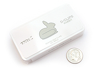 Midori D-Clips Paper Clips - Original Series - Rabbit - Box of 30 - MIDORI 43148-006