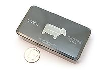 Midori D-Clips Paper Clips - Original Series - Cow - Box of 30 - MIDORI 43152-006