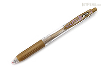 Zebra Sarasa Push Clip Gel Pen - 1.0 mm - Gold - ZEBRA JJE15-GO