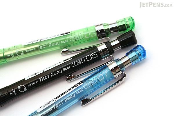 Zebra Tect 2way Light Drafting Pencil - 0.7 mm - Light Blue Body - ZEBRA MAB42-LB
