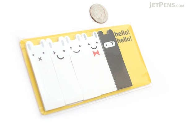 Jstory Smile-It Fun Tab Stickers - Rabbit - JSTORY SMILE IT R
