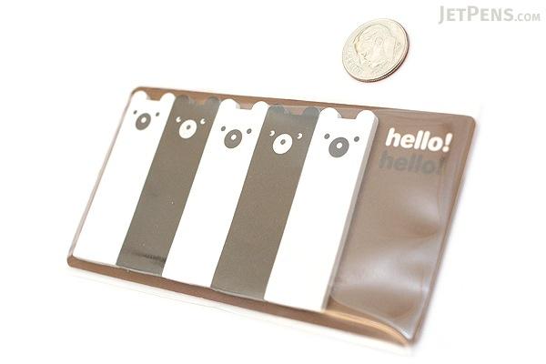 Jstory Smile-It Fun Tab Stickers - Bear - JSTORY SMILE IT B