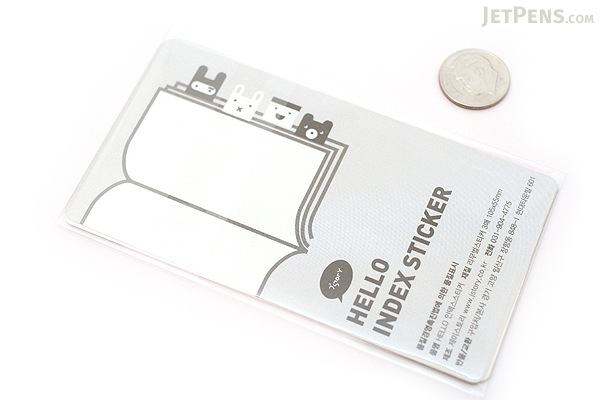 Jstory Index Fun Tab Stickers - Rabbit - JSTORY INDEX R