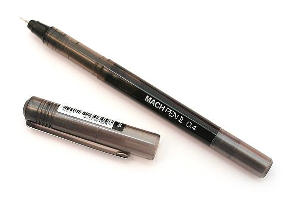 Morning Glory Mach II Liquid Ink Pen - 0.4 mm - Black - MORNING GLORY MACH BK