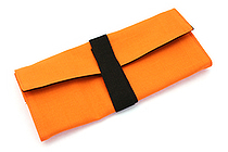 122KCal Roll Pencil Case - Carrot Orange - 122KCAL ROLL CAR