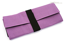 122KCal Roll Pencil Case - Lavender Purple - 122KCAL ROLL LAV