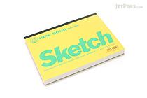 """Maruman New Soho Series Sketchbook - B6 (4.9"""" X 6.9"""") - 126.5g / sq m Paper - MARUMAN SOHO301-04"""