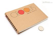 "Maruman Pocket Croquis Sketchbook - 4.2"" X 6"" - 96.4 gsm - MARUMAN S163"