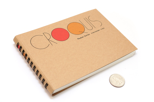 """Maruman Pocket Croquis Sketchbook - 4.2"""" X 6"""" - 96.4 g / sq m - MARUMAN S163"""