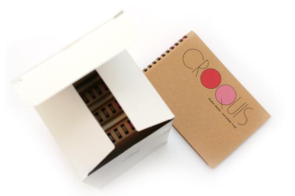 "Maruman Pocket Croquis Sketchbook - 4.2"" X 6"" - 60 g / sq m - 80 Sheets - Bundle of 10 - MARUMAN S162 BUNDLE"