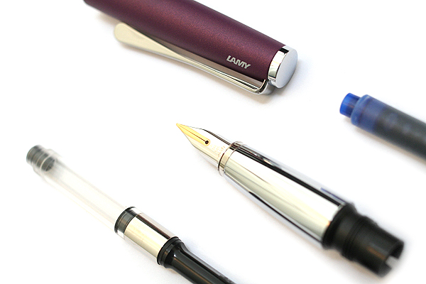 Lamy Studio Fountain Pen - Fine Nib - Violet Purple Body - Limited Edition - LAMY L66VTF