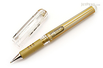 Pentel Hybrid Gel Grip DX Gel Pen - 1.0 mm - Gold - PENTEL K230-X