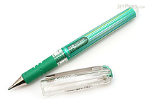 Pentel Hybrid Gel Grip DX Gel Pen - 1.0 mm - Metallic Green - PENTEL K230-MD