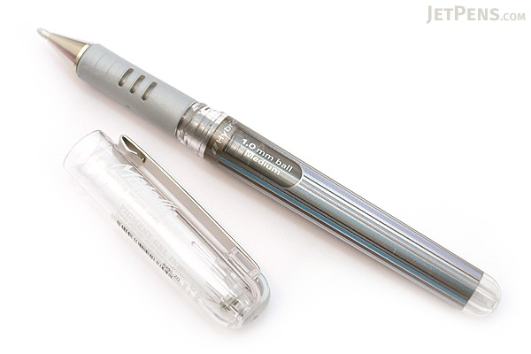 Pentel Hybrid Gel Grip DX Gel Pen - 1.0 mm - Silver - PENTEL K230-Z