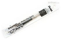 Pentel EnerGel LR7 Gel Pen Refill - 0.7 mm - Black - PENTEL LR7-A