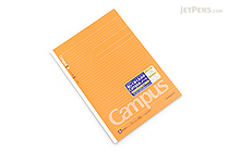 Kokuyo Campus Adhesive-Bound Notebook - A4 - Dotted 7 mm Rule - KOKUYO NO-201AT