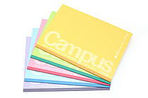 Kokuyo Campus Notebook - Semi B5 - Dotted 6 mm Rule - Pack of 5 Cover Colors - KOKUYO NO-3CBTX5