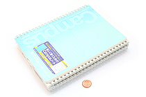 Kokuyo Campus Twin Ring Notebook - A5 - Dotted 6 mm Rule - 50 Sheets - Pack of 5 - KOKUYO SU-T135BT BUNDLE