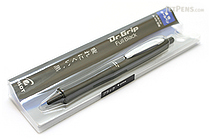 Pilot Dr. Grip Full Black Ballpoint Pen - 0.7 mm - Black Accents - PILOT BDGFB-80F-B