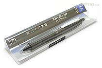 Pilot Dr. Grip Full Black Ballpoint Pen - 0.7 mm - Black Accents - PILOT BDGFB-80F-B