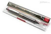 Pilot Dr. Grip Full Black Shaker Mechanical Pencil - 0.5 mm - Bordeaux Accents - PILOT HDGFB-80R-BO