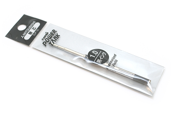 Uni Power Tank Smart Series High Grade Ballpoint Pen Refill - 1.0 mm - Black - UNI SJP10.24
