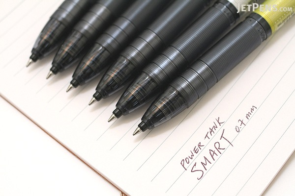 Uni Power Tank Smart Series Ballpoint Pen - 0.7 mm - Yellow Body - UNI SN201PT07.2