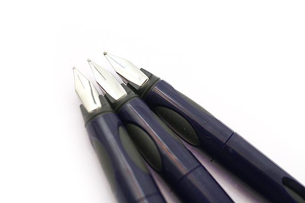 Pelikan P55 Future Fountain Pen - Medium Nib - Blue Body - PELIKAN 996587