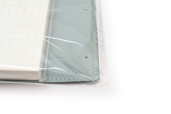 """Zeit Vektor Composite Leatherette Memo Pad Case - 3.7"""" X 4.5"""" - Blue - RAYMAY ZVP182 A"""