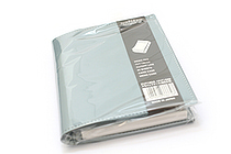 "Zeit Vektor Composite Leatherette Memo Pad Case - 3.7"" X 4.5"" - Blue - RAYMAY ZVP182 A"