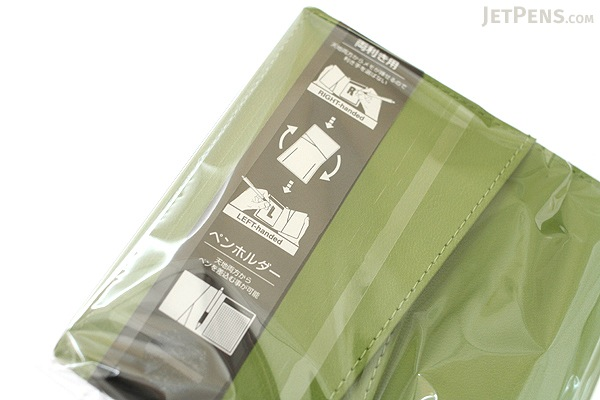 "Zeit Vektor Composite Leatherette Memo Pad Case - 3.7"" X 4.5"" - Green - RAYMAY ZVP182 M"