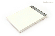 """Zeit Vektor Composite Leatherette Memo Pad Refill - 2.9"""" X 4.1"""" - 5 mm Graph X 80 Sheets - RAYMAY ZVP183"""
