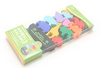Seed Animal Balance Game Eraser Set - Zoo - SEED YR-700D