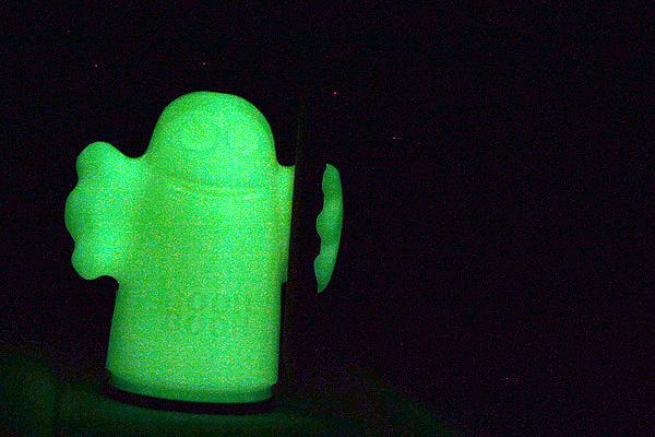 Kum Glowing in the Dark Booh! Pencil Sharpener - KUM 102.40.71