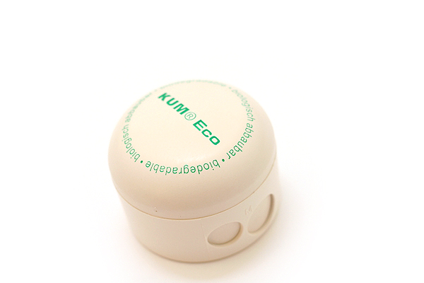 Kum Eco Biodegradable Wooden Pencil Sharpener - 2 Hole - KUM 333.03.11