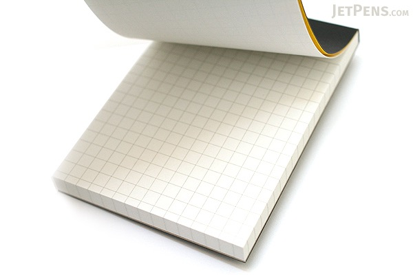 "Maruman Mnemosyne Project Memo Pad - A7 (2.9"" X 4.1"") - 5 mm Graph - 70 Sheets - Pack of 10 - MARUMAN N189 BUNDLE"