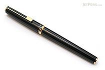 Pilot Custom Original Fountain Pen - Black - 14K Gold Medium Nib - PILOT FK-700R-B-M