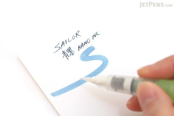 Sailor Nano Sei-boku Ink (Blue Black) - 50 ml Bottle - SAILOR 13-2001-244