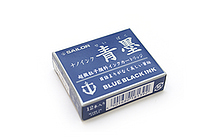 Sailor Fountain Pen Nano Ink Cartridge - Sei-boku (Blue Black) - Pack of 12 - SAILOR 13-0602-144